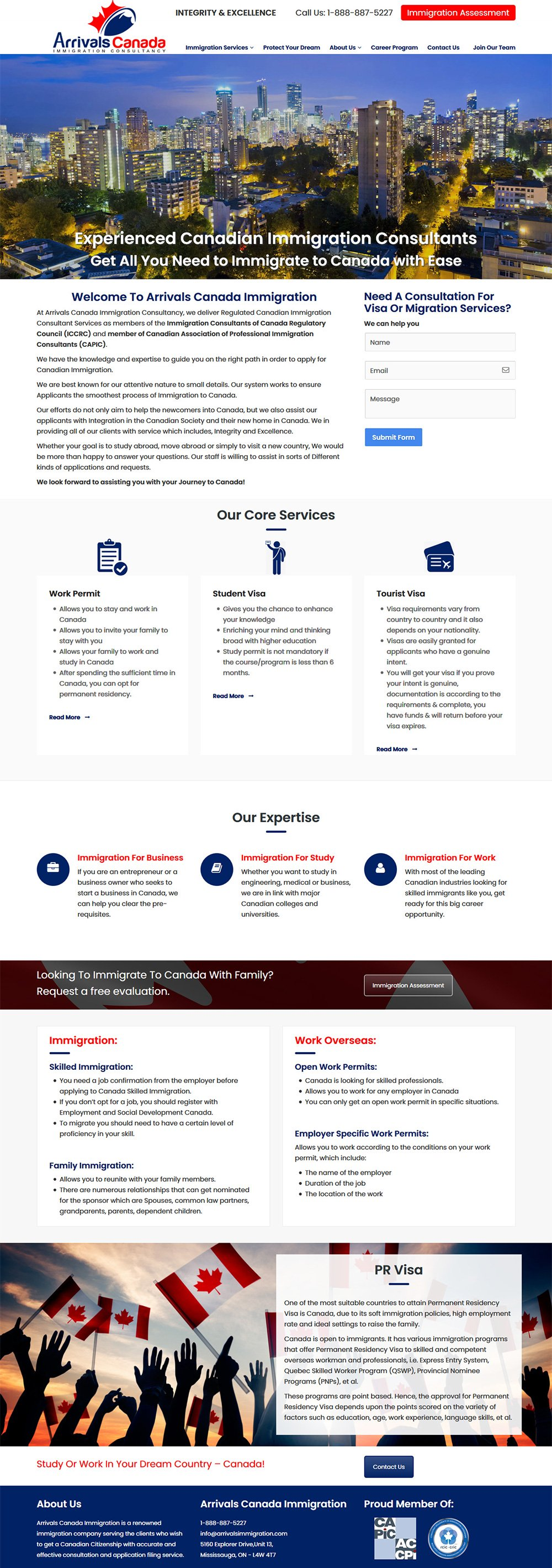 Website Development Burlington, Ontario