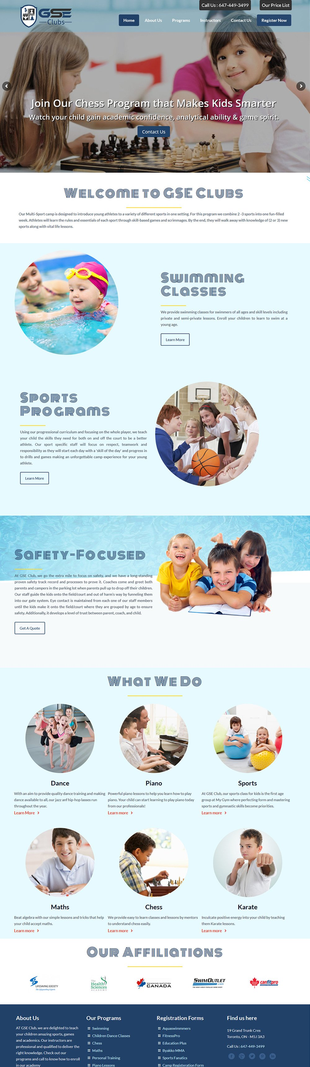 Website Design Burlington, Ontario