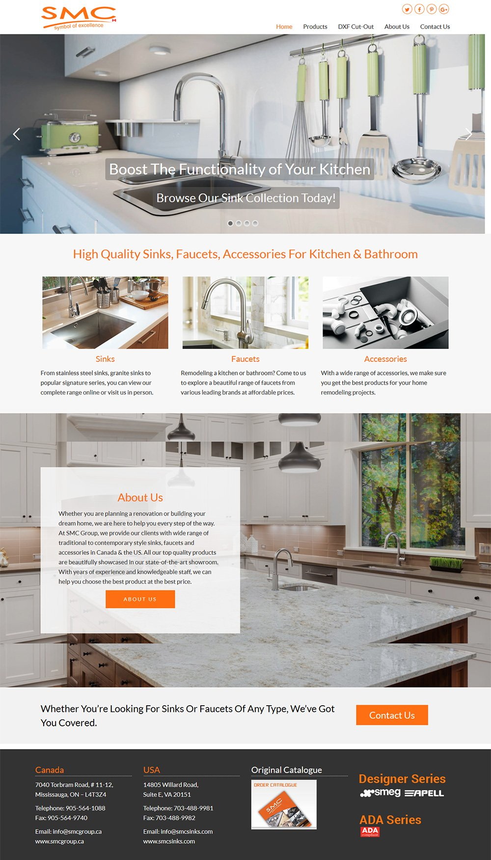 eCommerce Website Design Burlington, Ontario
