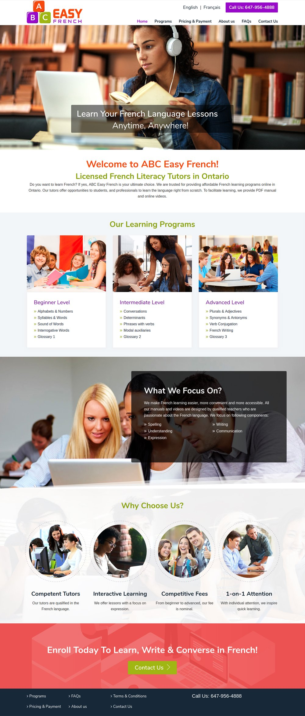Web Design Company Burlington, Ontario