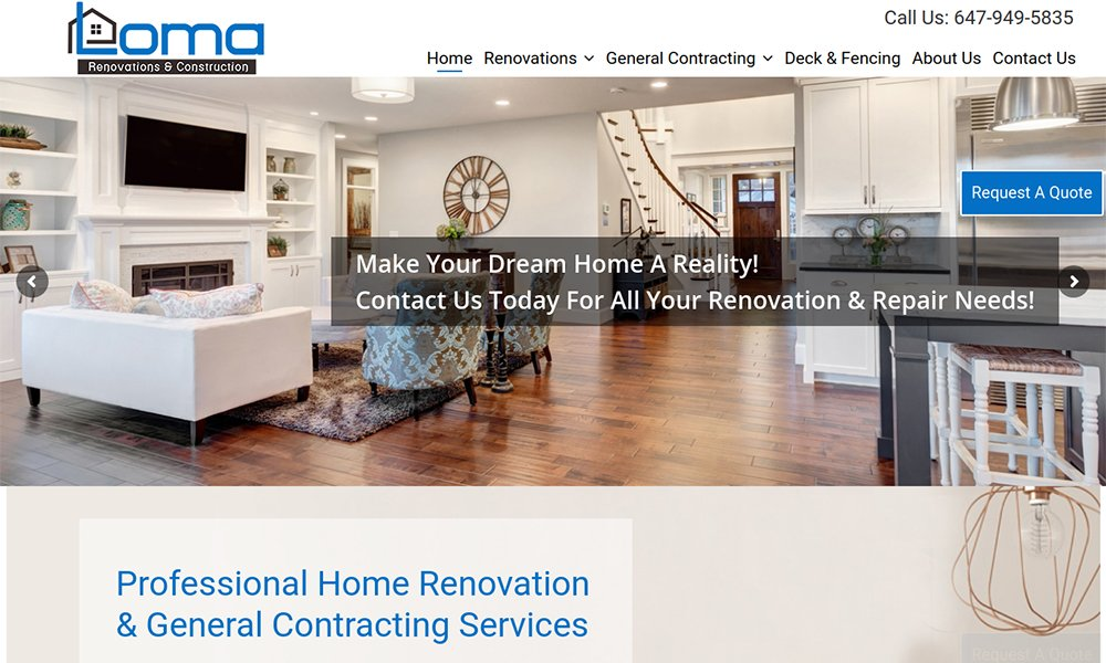 Web Design Burlington, Ontario