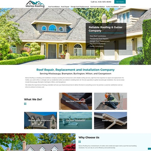 Web Design Burlington, Ontario